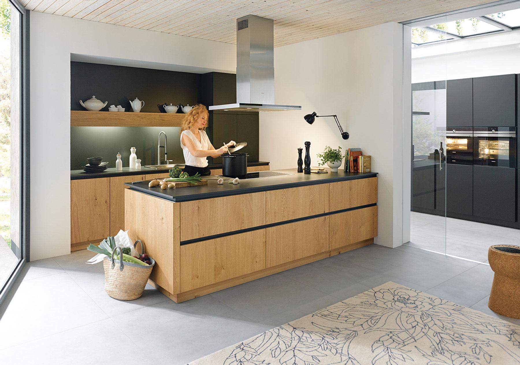 Grifflose Küche